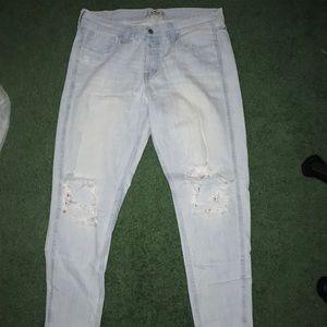 Hollister light wash jean